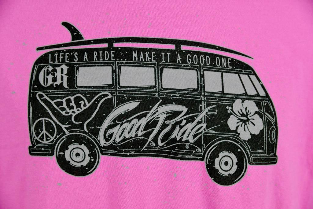 Pink GR Bus T-Shirt