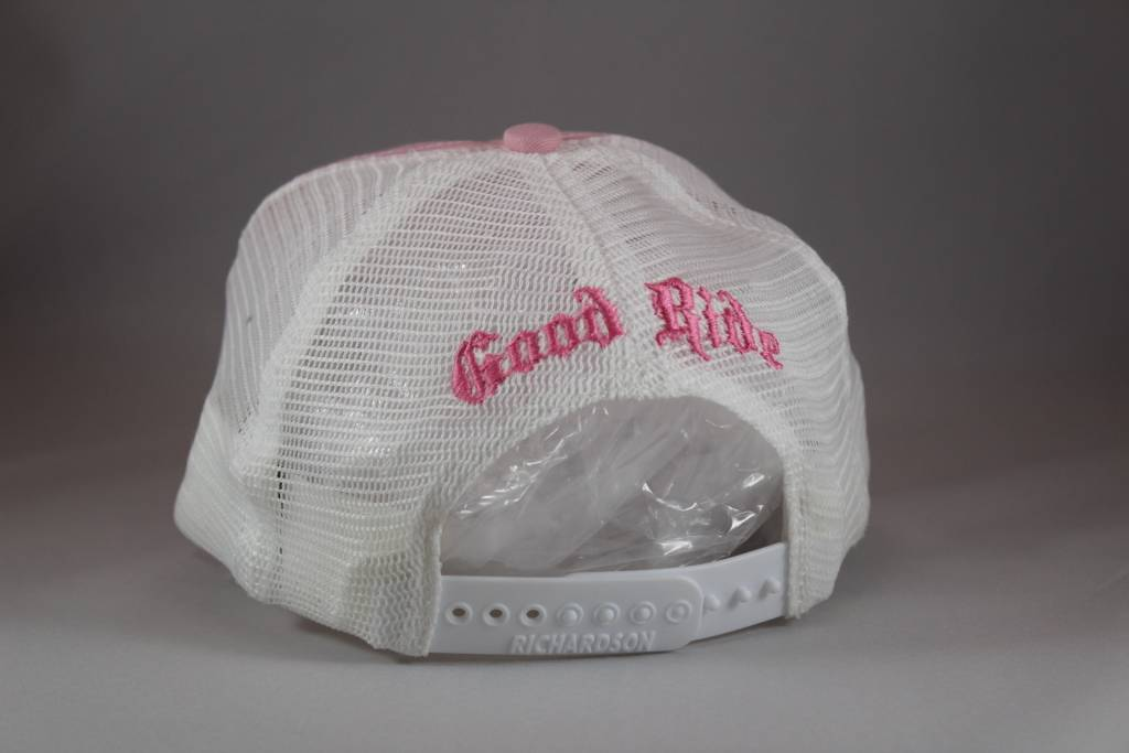 Pink and White GR Hat