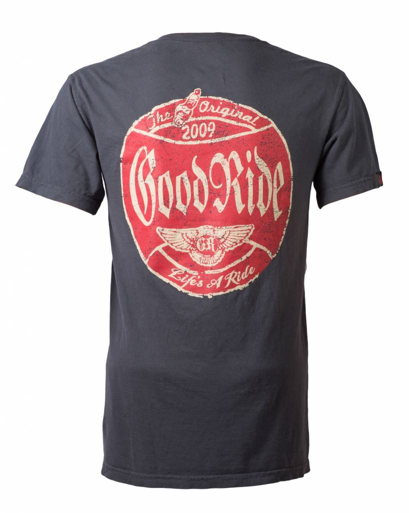 Graphite Good Ride Garage T-Shirt
