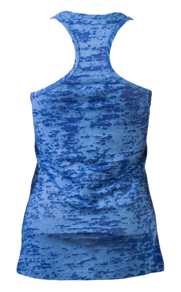 Blue Crystal Tank Top