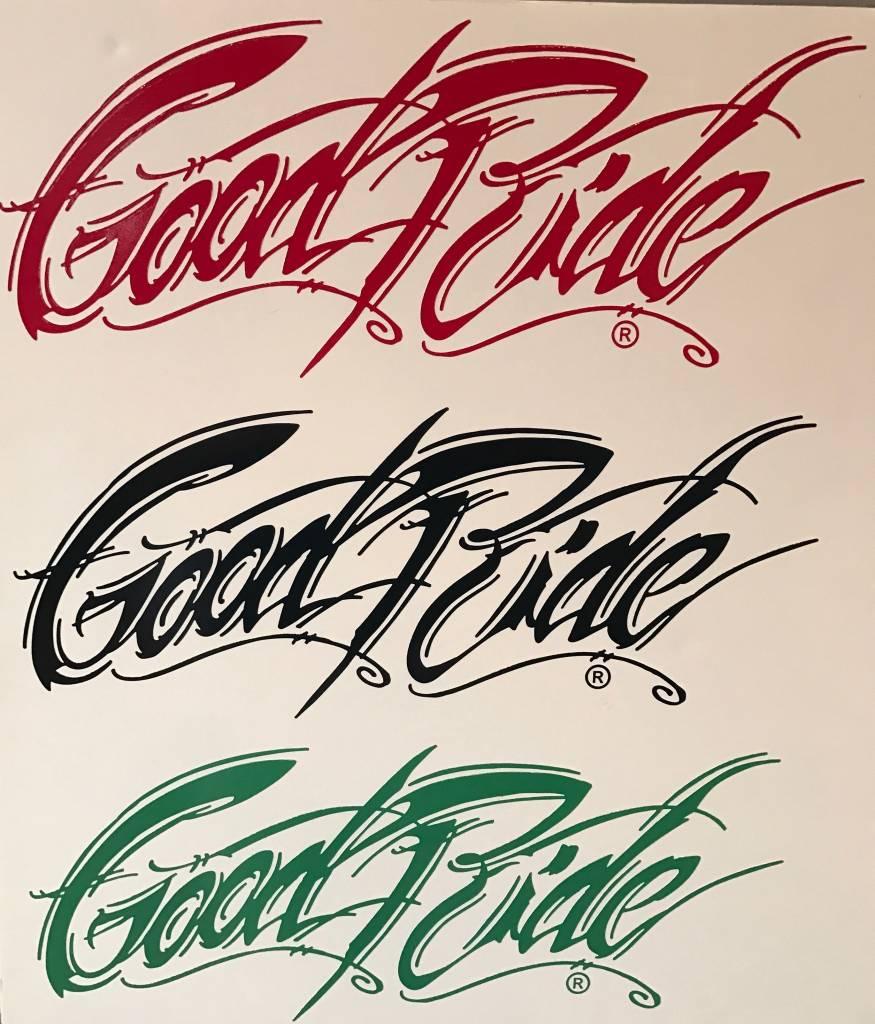 """13"""" Good Ride Sticker"""