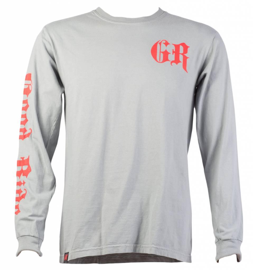 Gray Speed Shop Men's Long Sleeve T-Shirt