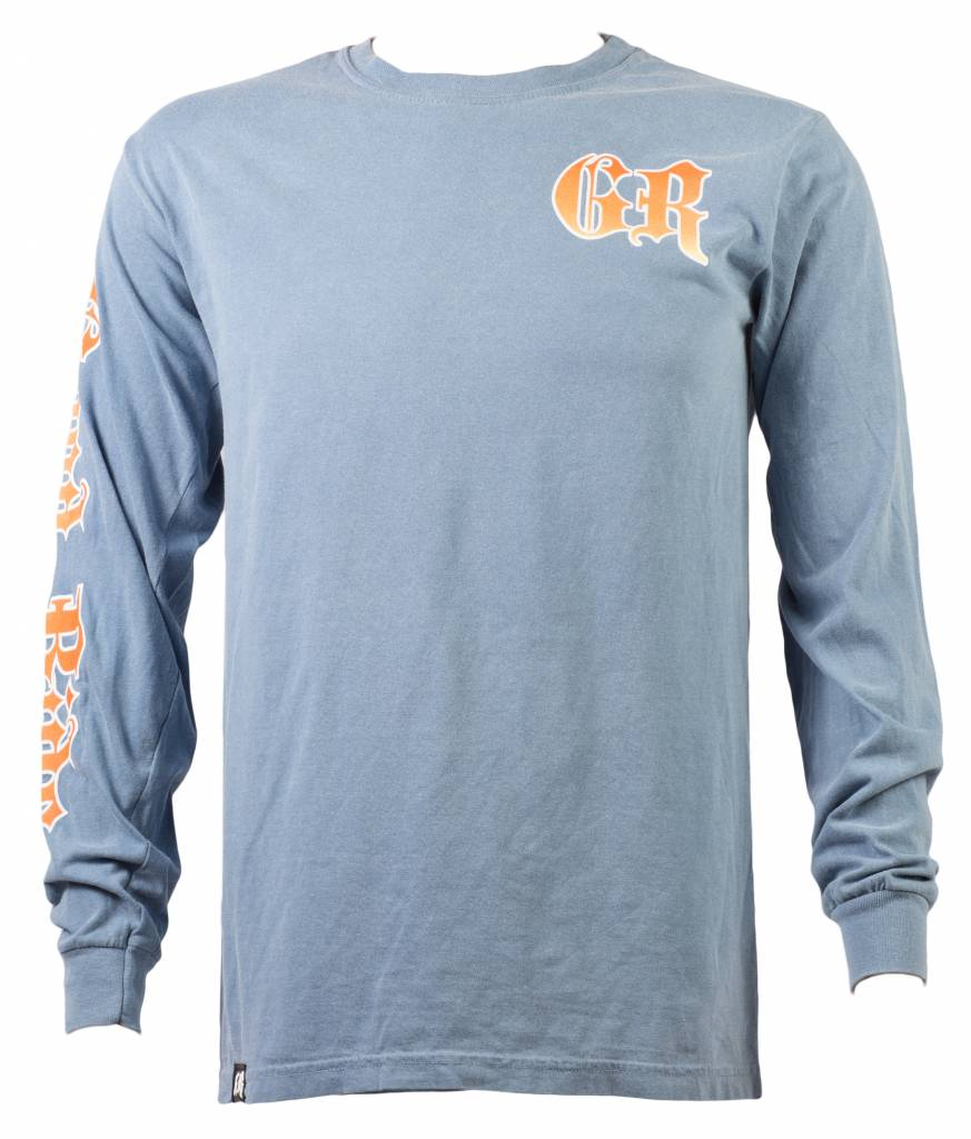 Flo - Blue Swordfish Long Sleeve Shirt