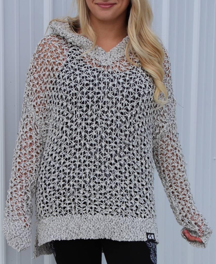 White Women's Knit Sweater