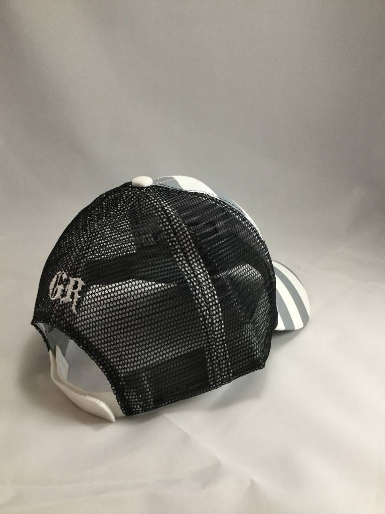 Gray and Black Women's Good Ride Hat