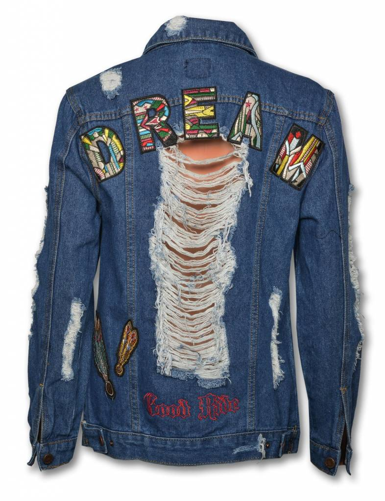 "Women's Denim Jacket "" DREAM """