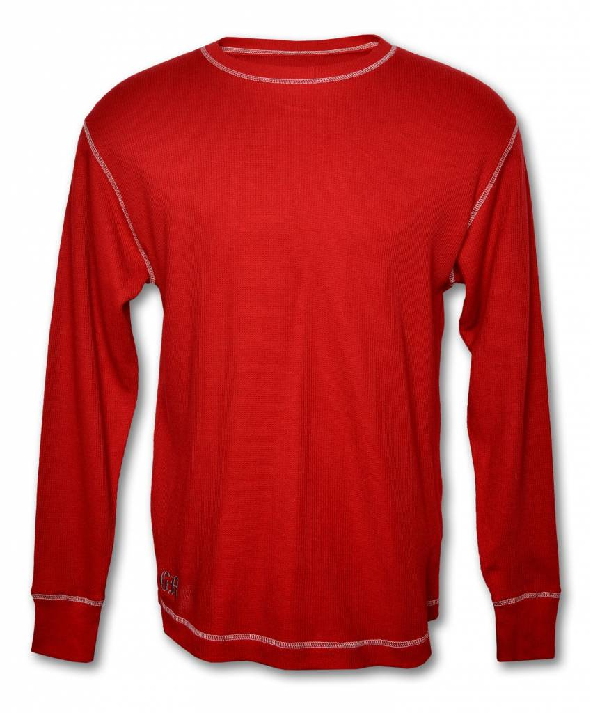 Red Light Thermal Cotton Shirt