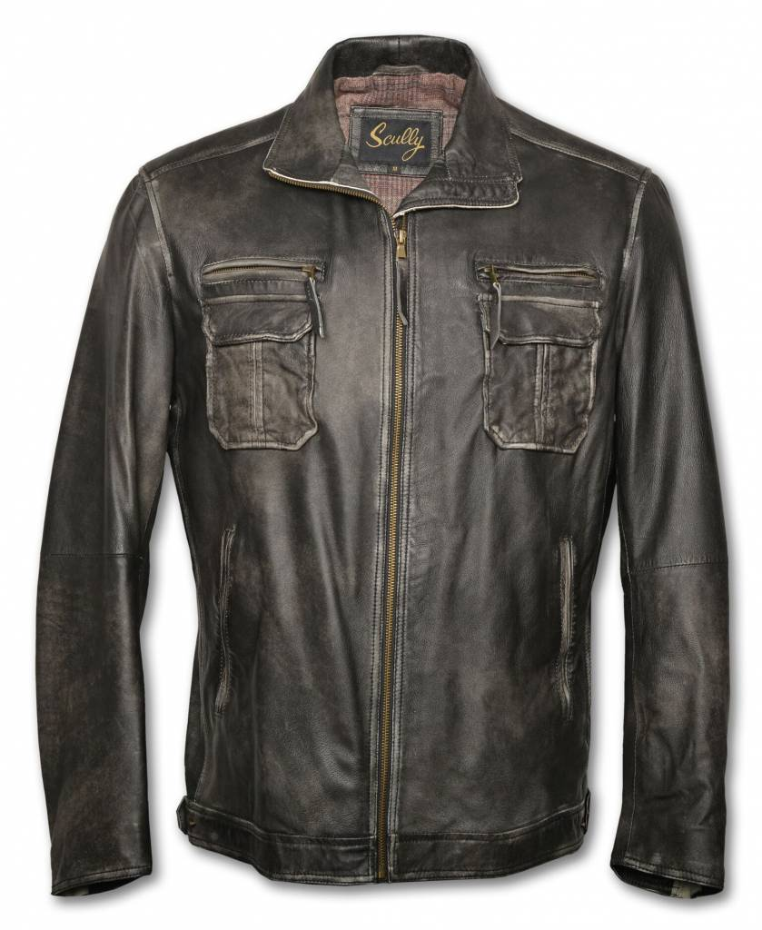 "Men's Leather ""GOOD RIDE "" Jacket"