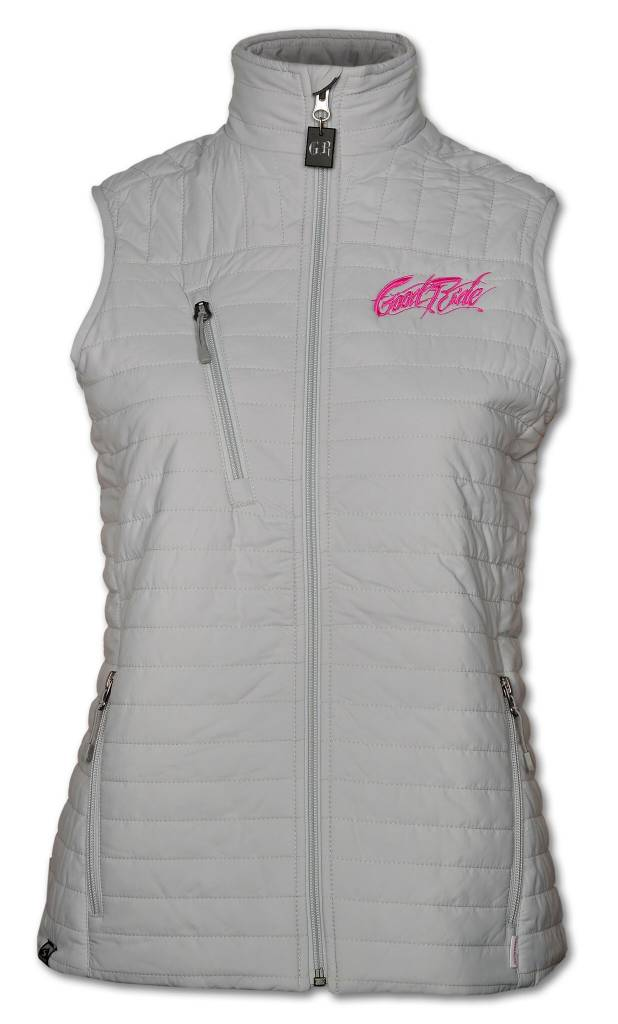 Quilted Thermolite Women's Vest in Platium