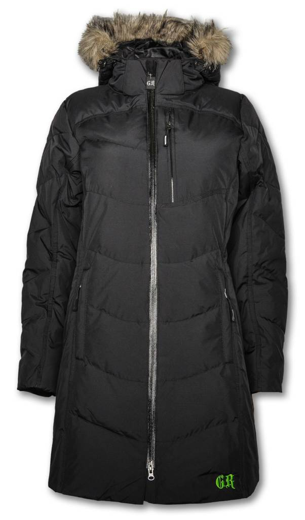 Long Black Women's Jacket