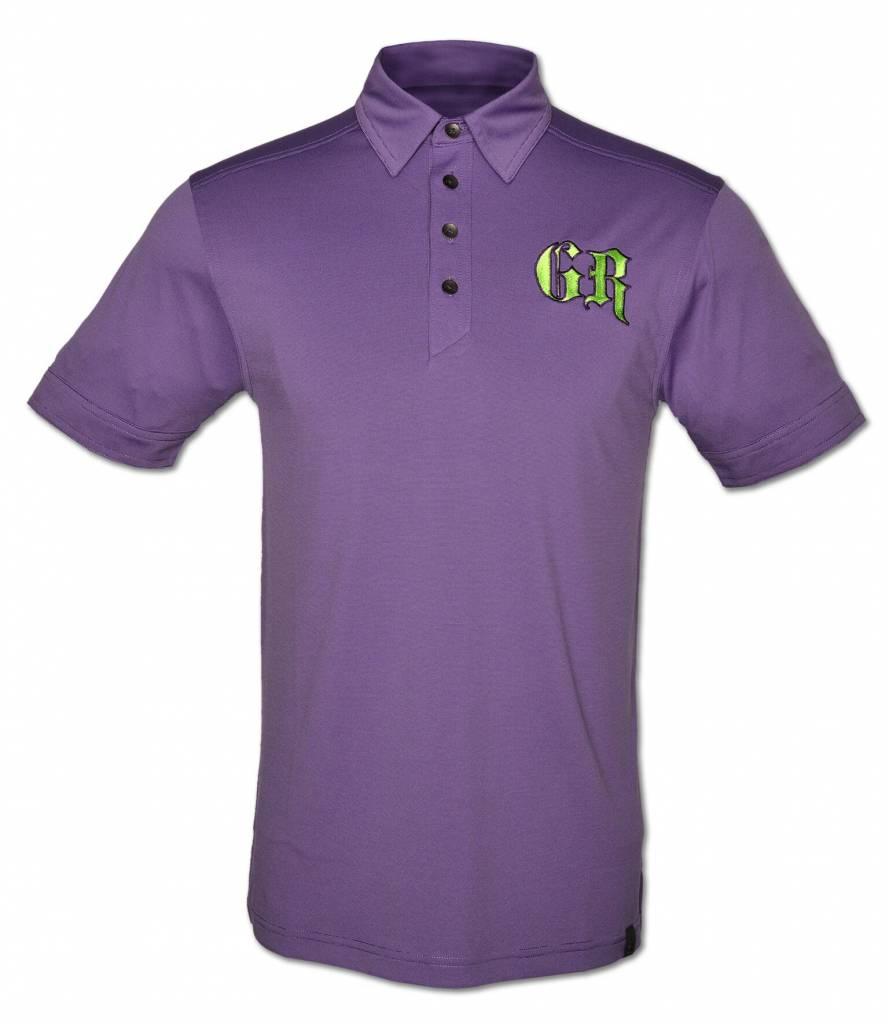 Purple Men's Polo Shirt