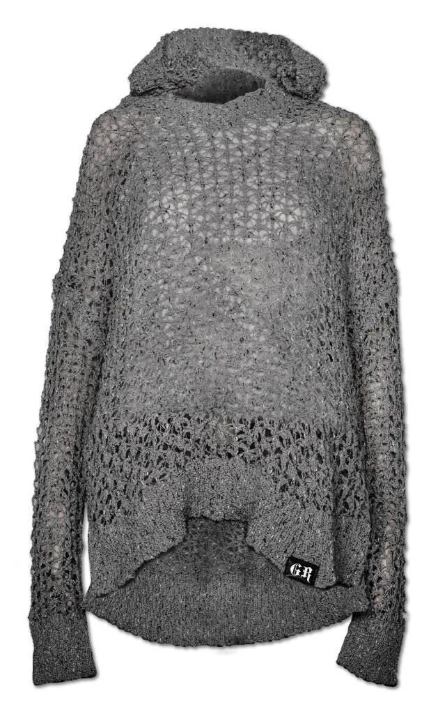 Gray  Knit Women's Sweater