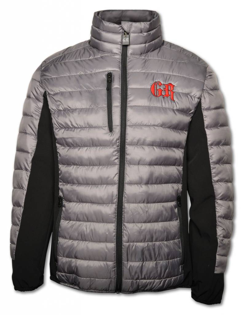 Men's Gray / Black PUFFY Jacket