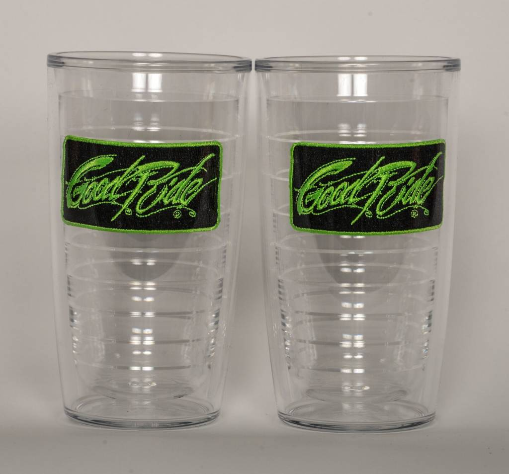GREEN Tervis 16oz Tumbles 2 PACK