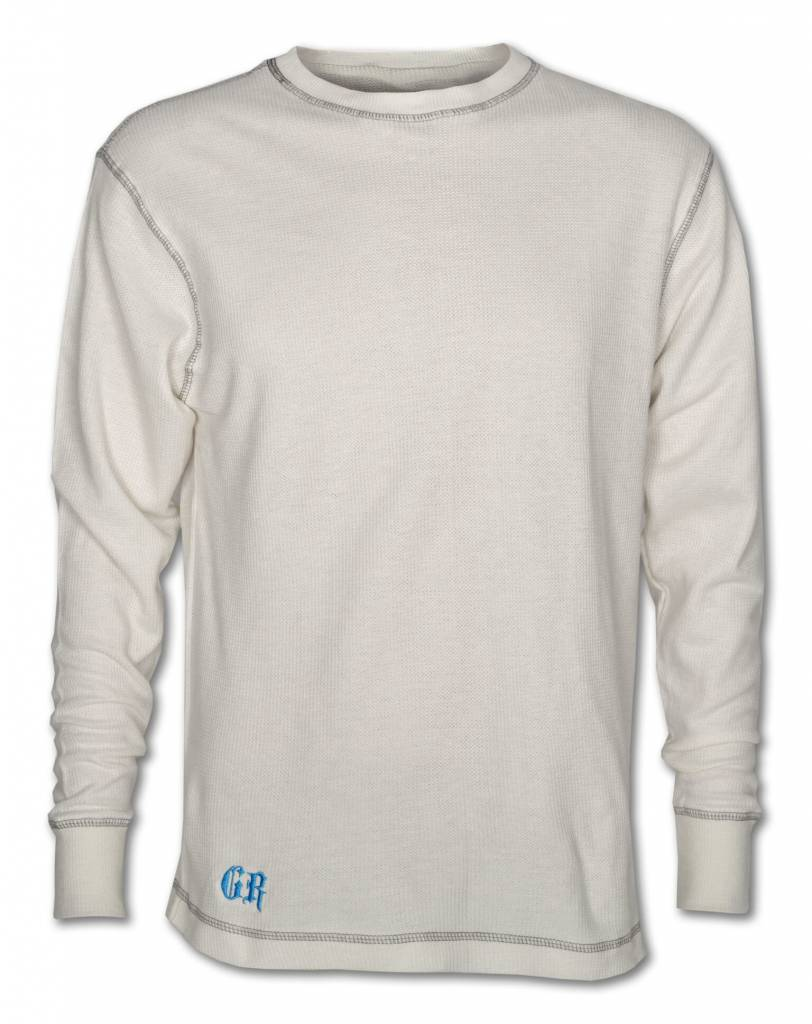 White Light Thermal Cotton Shirt