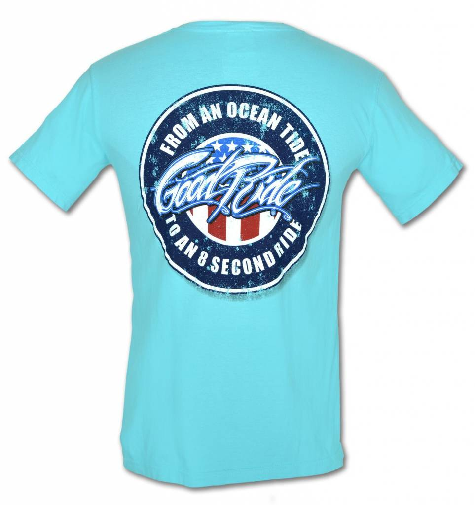 Lagoon Blue Ocean Tide T-Shirt
