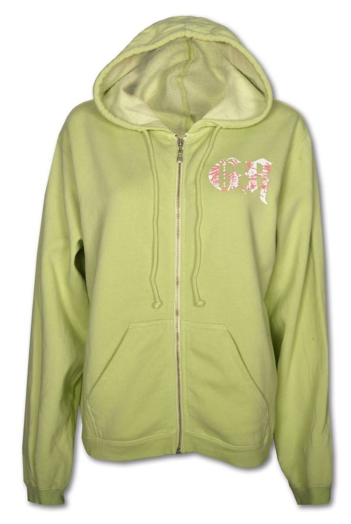 Women's Kiwi Zip - up Hoodie