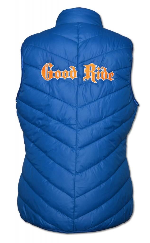 Women's PUFFY Blue/ Orange Vest