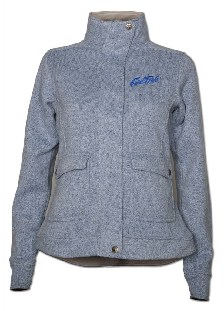 Blue Sweater Fleece Women's Jacket