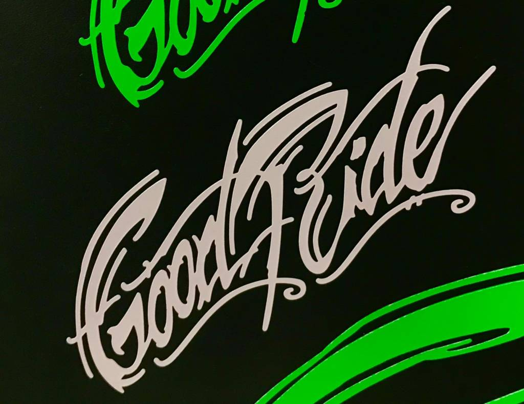 "7"" Good Ride Sticker"