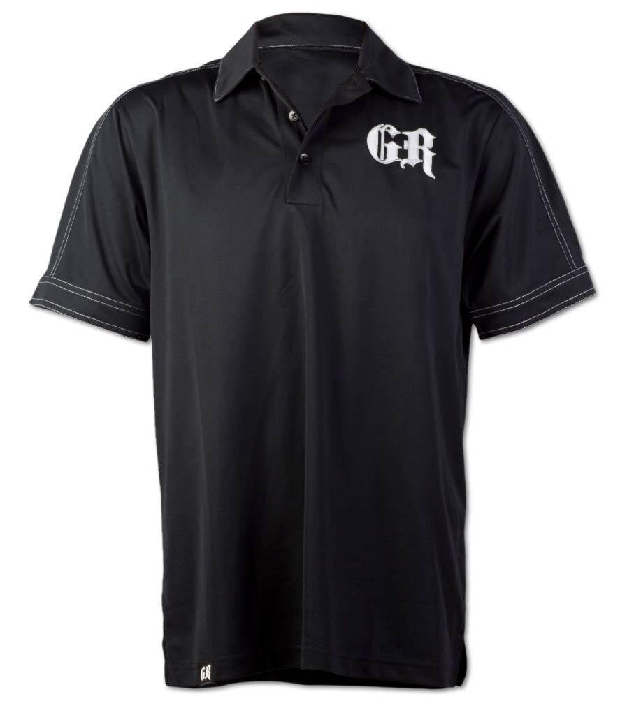 Black / White  GR Polo Shirt