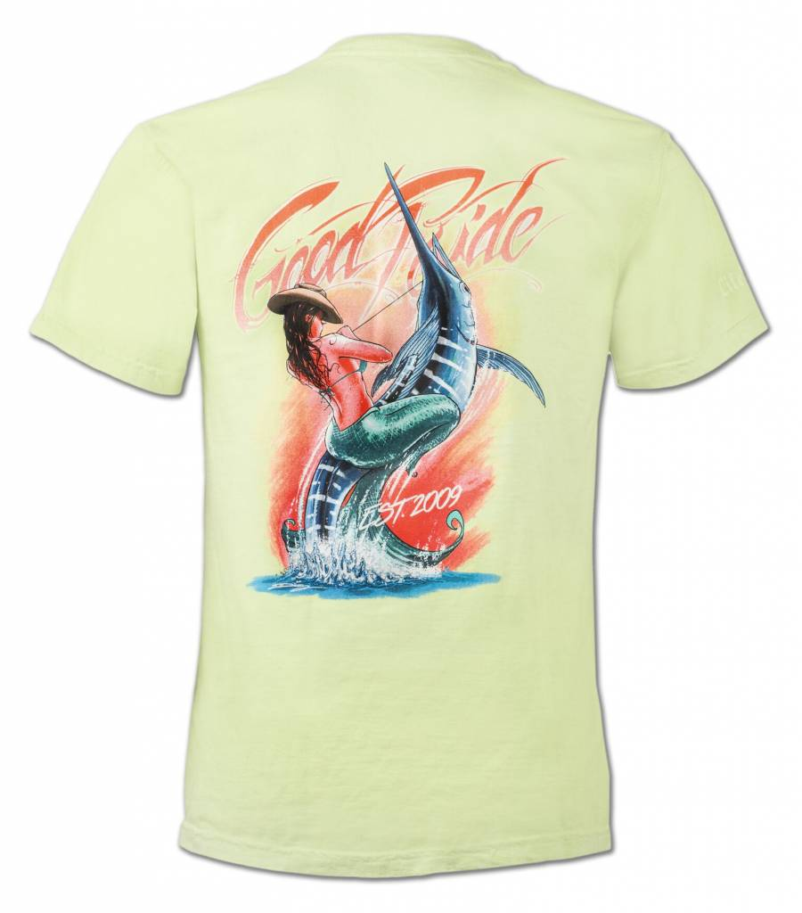 Kiwi Mermaid T-Shirt