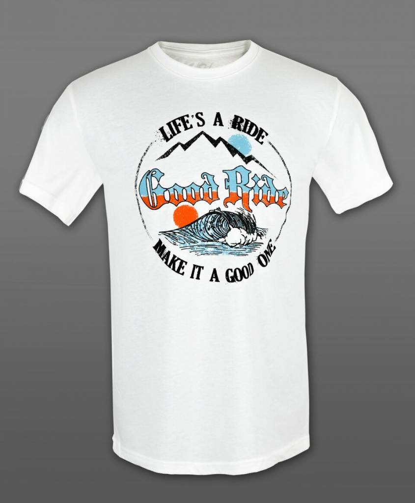 Life's A Ride Wave T-Shirt