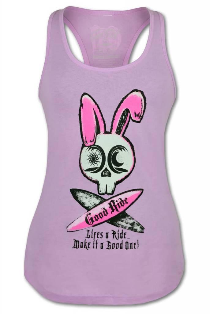 Suffer Bunny Racerback tee