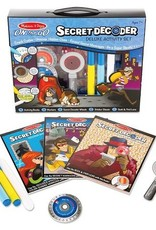 Melissa & Doug SECRET DECODER DELUXE ACTIVITY BOOK