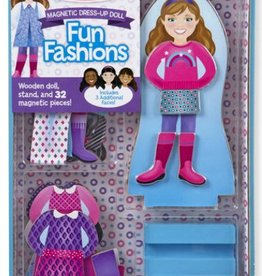 Melissa & Doug Magnetic Dress Up - Fun Fashions