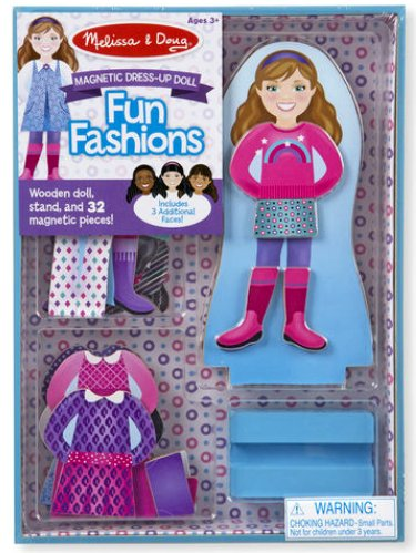 Melissa & Doug Magnetic Dress Up - Fun Fashions