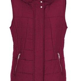TRIBAL Puffer Vest W/ Zippers