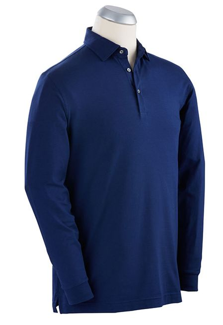 Bobby Jones L/S Solid Liquid Cotton Shirt