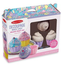 Melissa & Doug Decoupage Deluxe Craft Set-Cupcakes 30108