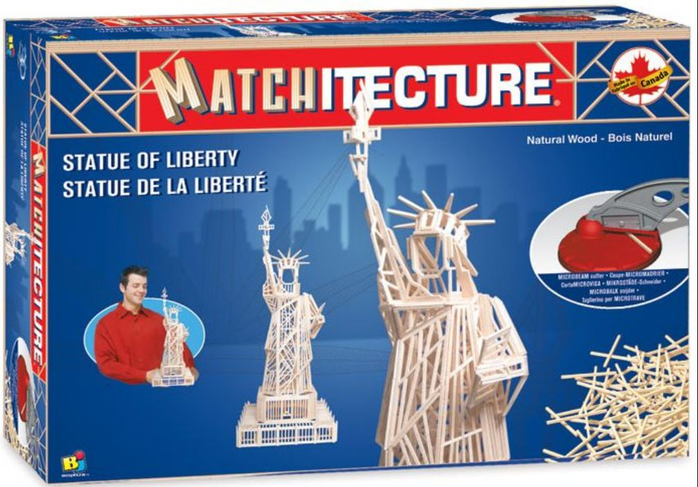 Matchitecture - Statue of Liberty (1250pcs)