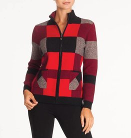 Alison Sheri Buffalo Plaid Jacket A32030