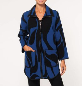 Alison Sheri Zip Up Coat A32151