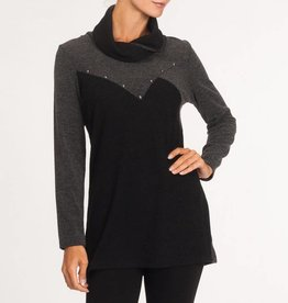 Alison Sheri Crossover Sweater A32166