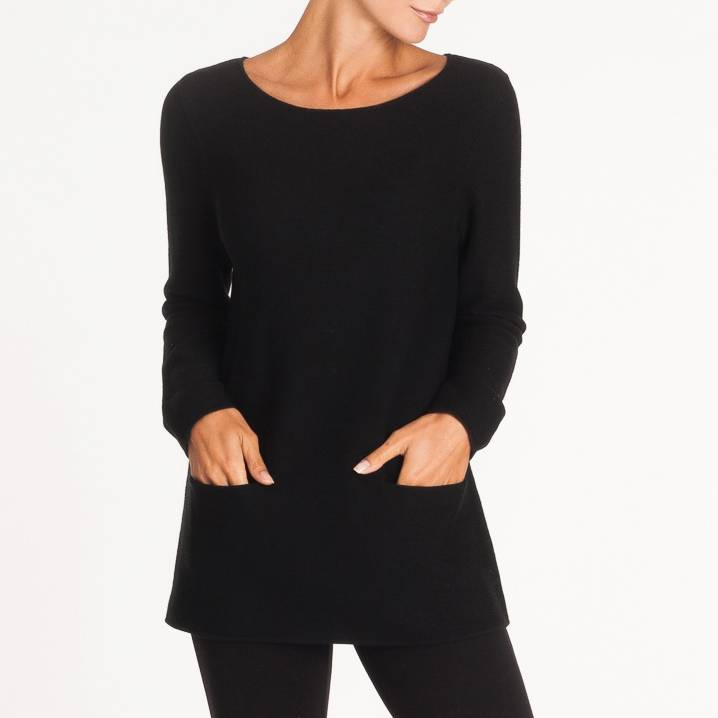 Alison Sheri Sweater W/ Pocket A32101