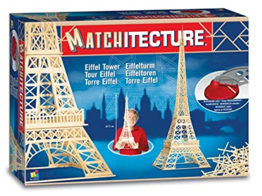 Matchitecture: Eiffel Tower, (1150pcs)