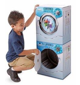 Melissa & Doug Washer/Dryer Combo Play Appliance