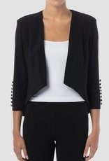 Joseph Ribkoff Joseph Ribkoff Black open front Dress jacket