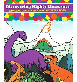 Continuum Games Do-A-Dot Art MIghty DInosaurs Activity