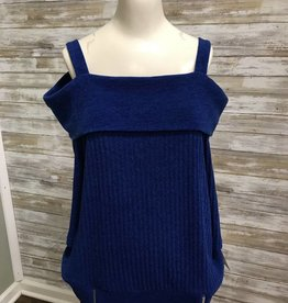 Lasania Royal Blue Tank, 1045