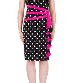 Black, Vanilla, Neon Pink  Dress, 191828