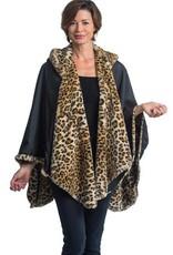 Rain Capers Leopard Fur/Black FC-1775