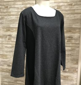 WIND RIVER Round Neck Single Slub L/S Blouse