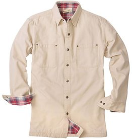 Backpacker Stone Canvas Shirt Jacket, BP7006