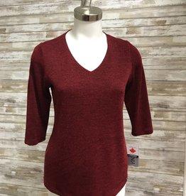 Lasania Cranberry Sweater