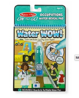 Melissa & Doug OTG Water Wow! - Occupations